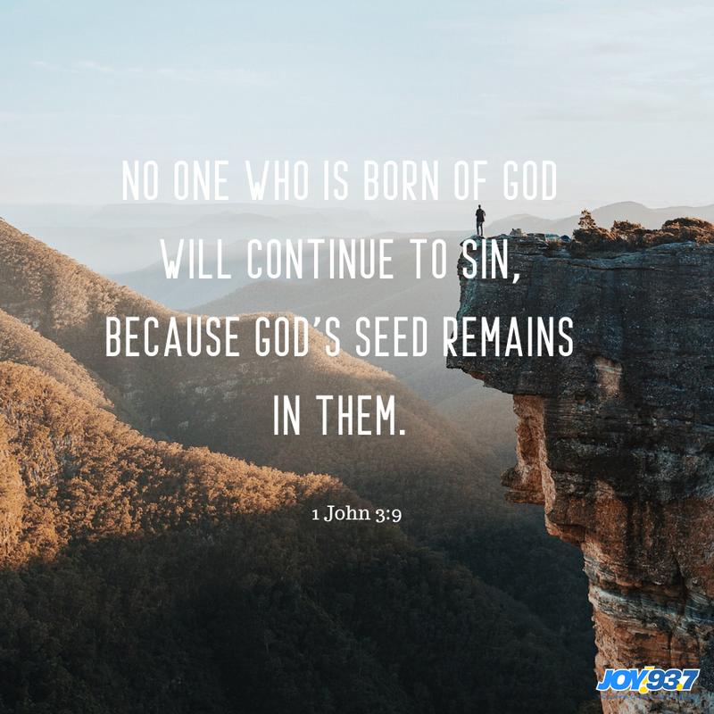 1 John 3:9