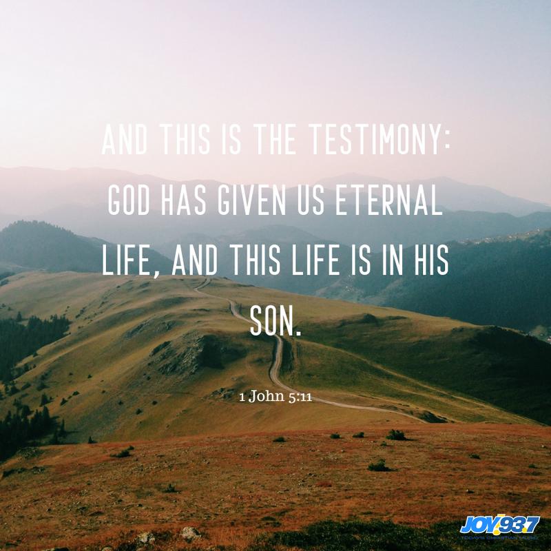 1 John 5:11