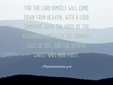 1 Thessalonians 4:16