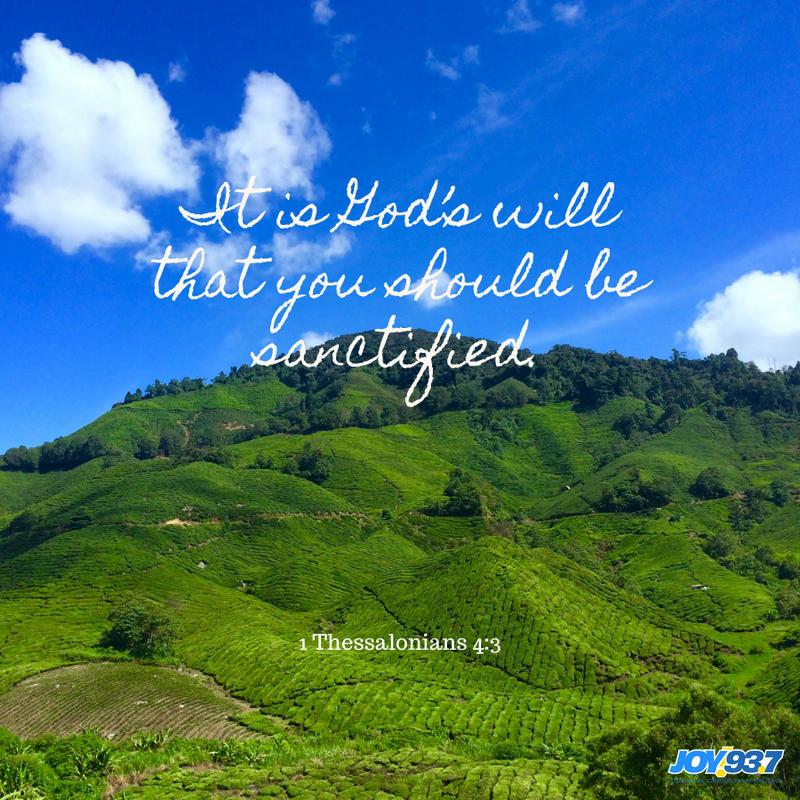 1 Thessalonians 4:3