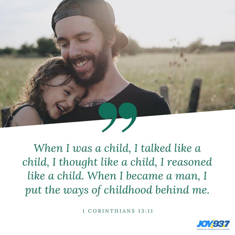 1 Corinthians 13:11