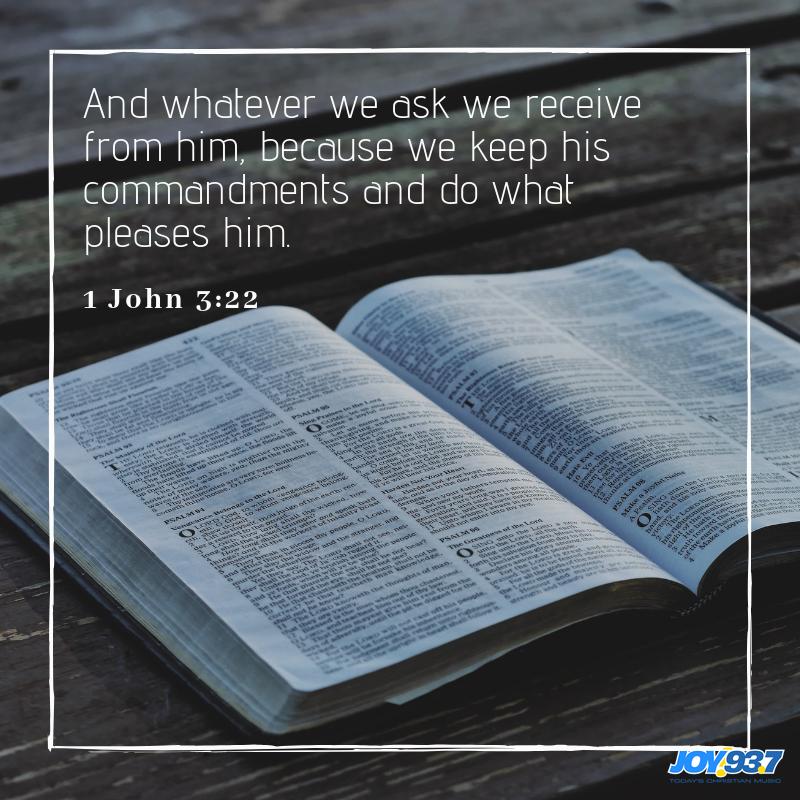 1 John 3:22