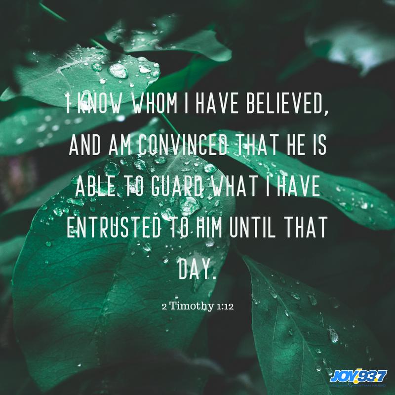 2 Timothy 1:12