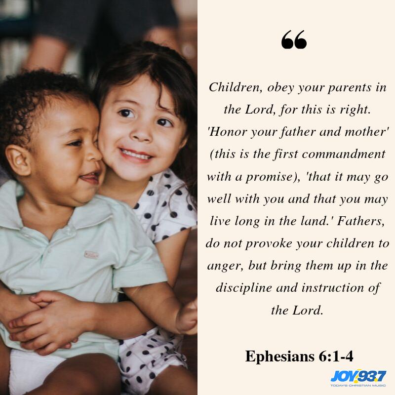 Ephesians 6:1-4