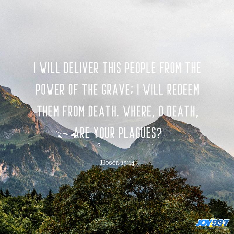 Hosea 13:14