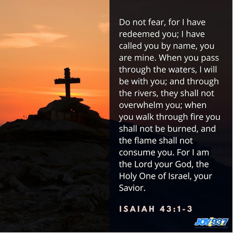 Isaiah 43:1-3