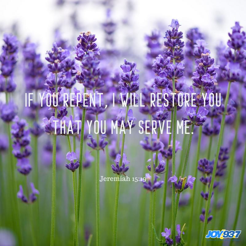 Jeremiah 15:19