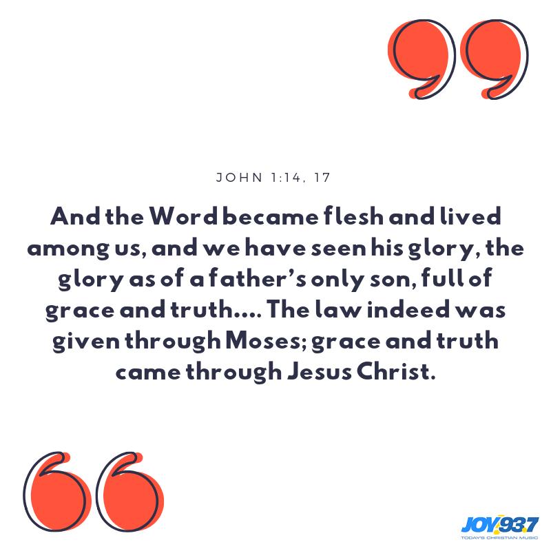 John 1:14-17