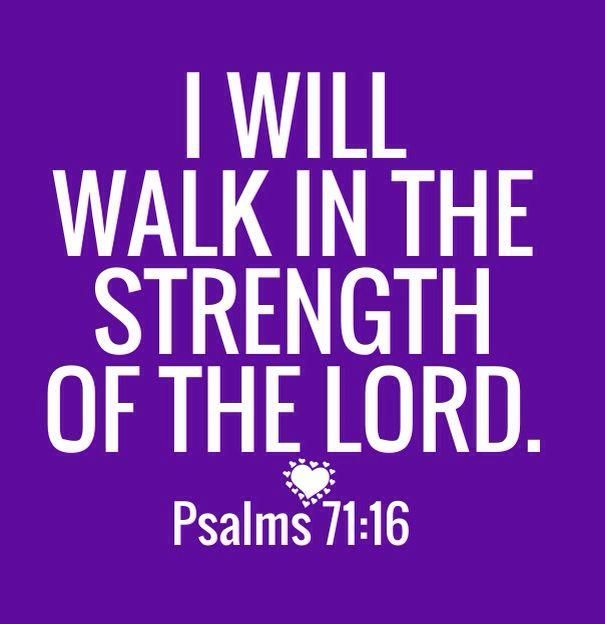 Psalms 71:16