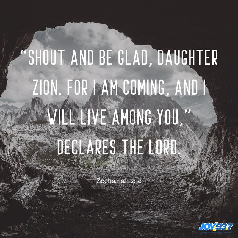 Zechariah 2:10